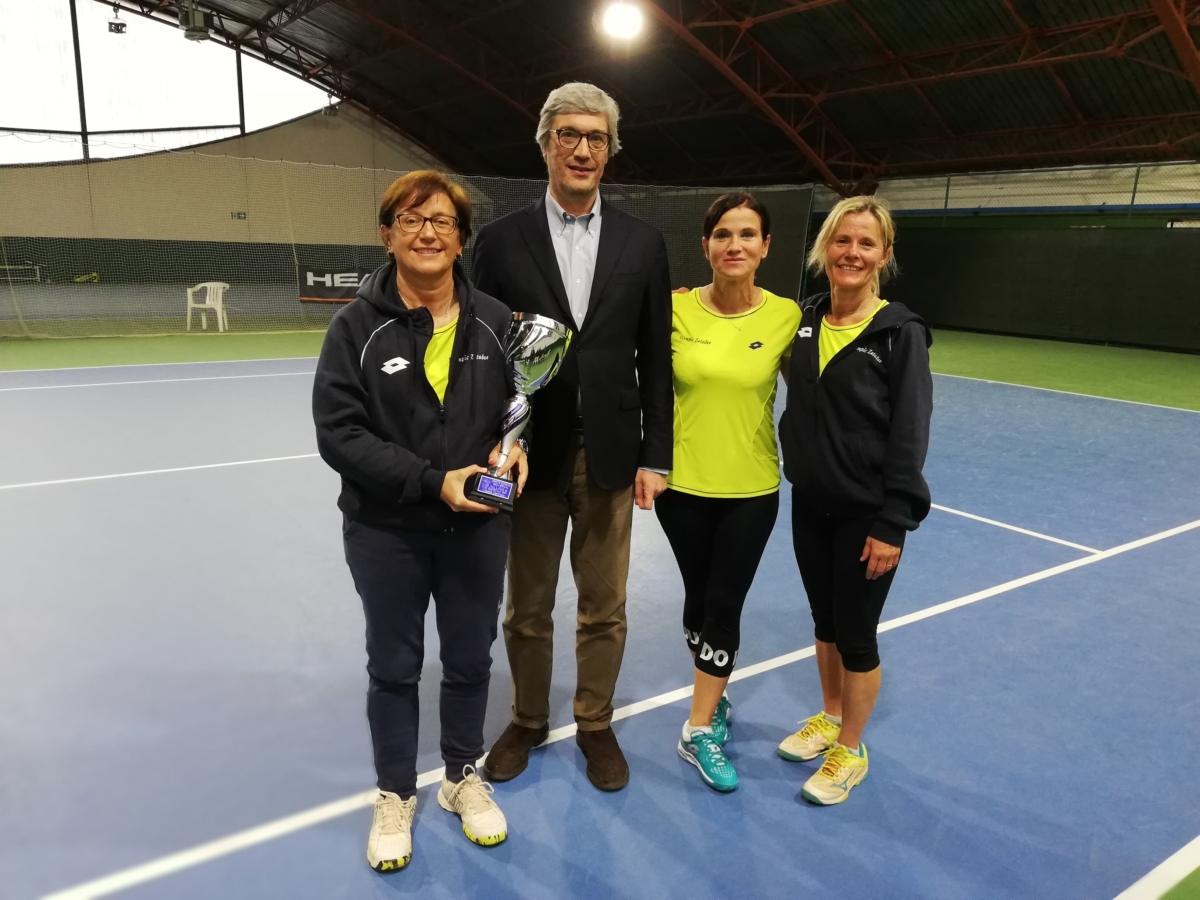 CAMPIONATO NAZIONALE LADIES 45 – FASE REGIONALE 2019 – 1^ SQUADRA CLASSIFICATA